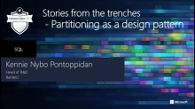 The state of being so divided - partitioning as a design pattern