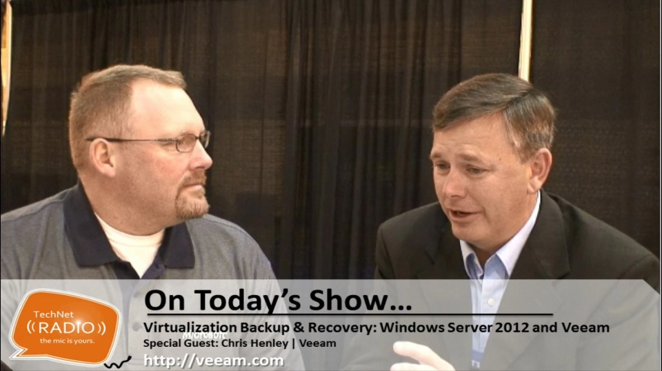 TechNet Radio: Best of TechEd 2013 - Virtualization Backup & Recovery: Windows Server 2012 and Veeam