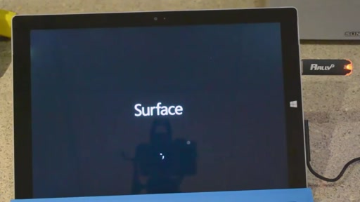 Boot A Surface Pro 3 from a Windows 10 Technical Preview USB media