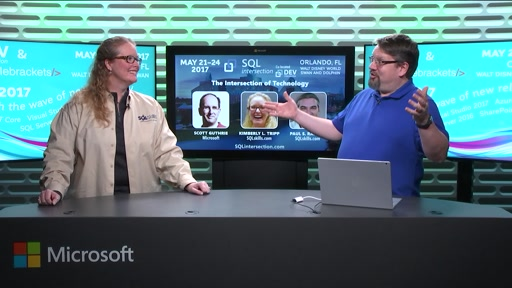 SQLintersection Countdown Show on SQL Server 2016 with Kim Tripp