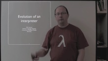 C9 Lectures: Dr. Ralf Lämmel - Advanced Functional Programming - Evolution of an Interpreter