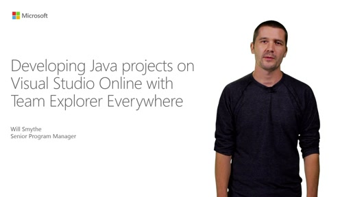 Developing Java projects On Visual Studio Online With Team Explorer Everywhere