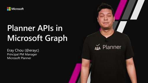 Planner APIs in Microsoft Graph