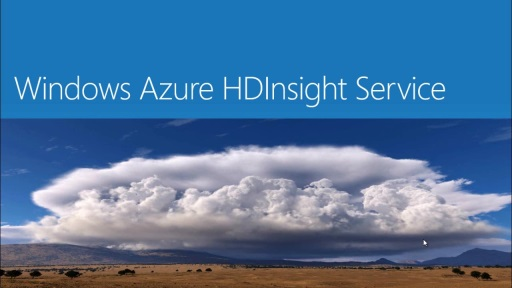 Introduction to Windows Azure HDInsight Service (continued..)