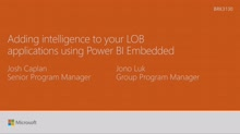 Add intelligence to your LOB applications using Power BI