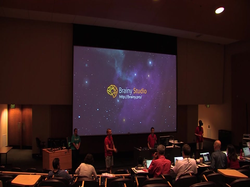 Brainy Studio at Imagine Cup WW Finals 2014