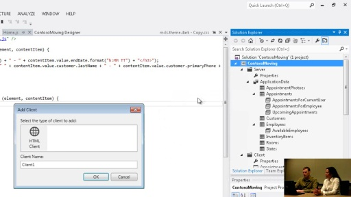 Early Look at the Visual Studio LightSwitch HTML Client