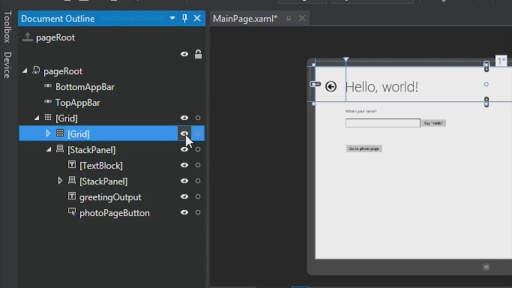 C# Part 3: Navigation, layout and views (1 of 2)
