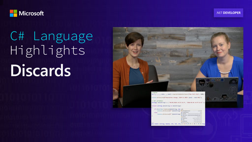 C# Language Highlights: Discards
