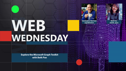 Explore the Microsoft Graph Toolkit with Beth Pan