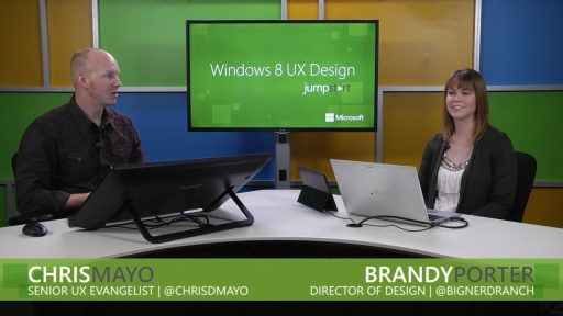 Windows 8 UX Design: (01) The Microsoft Design Language