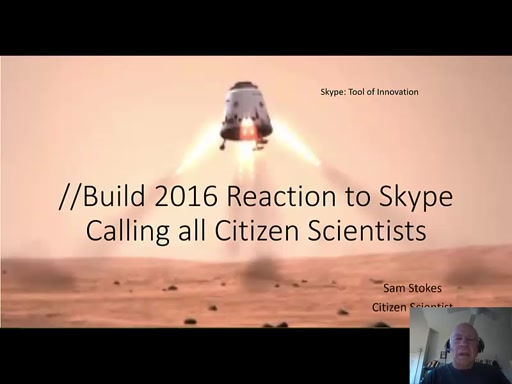 //Build 2016 Reaction: Skype and the Mars Airplane