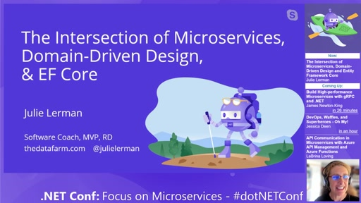 The Intersection of Microservices, Domain-Driven Design and Entity Framework Core
