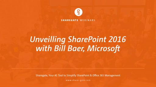 What's in SharePoint 2016 with Microsoft's Bill Baer