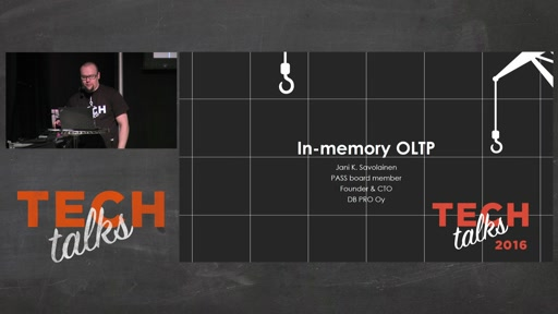 Tech Talks 2016 Flexera Stage In-Memory OLTP