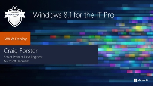 Windows 8.1 for IT Pros