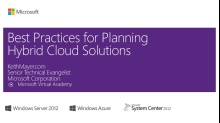 (Module 2) Planning your Hybrid Cloud