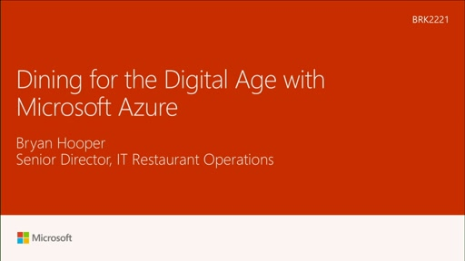 See how Bloomin Brands used Azure to elevate the dining experience