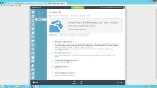 (Module 2) Prepare your Site Recovery Vault and On-Premises Resources