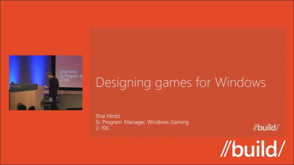 Designing games for Windows 8