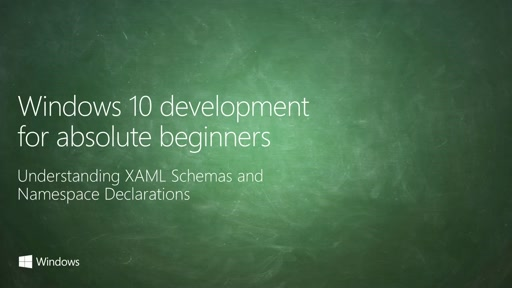 UWP-007 - Understanding XAML Schemas and Namespace Declarations