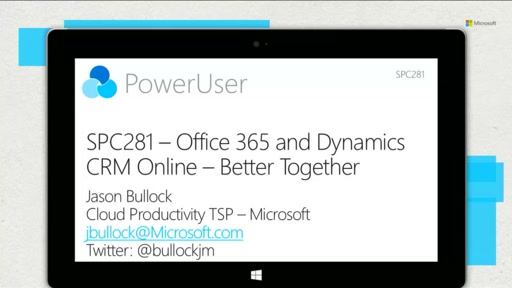 Office 365 and Dynamics CRM Online - better together