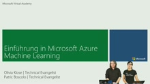 03 | Azure Machine Learning Web Service erstellen