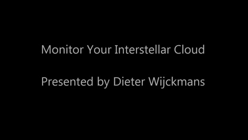 Monitor Your Interstellar Cloud