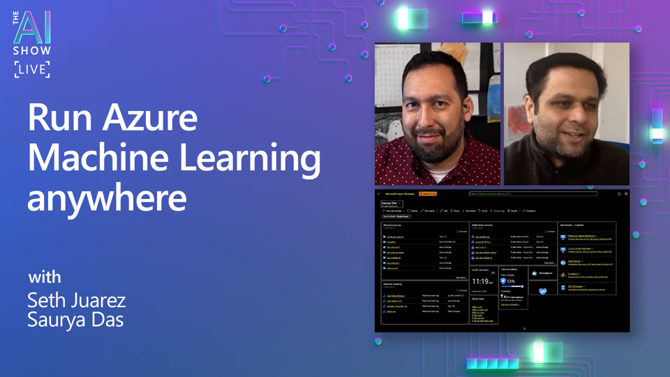 Run Azure Machine Learning anywhere  | APR 2