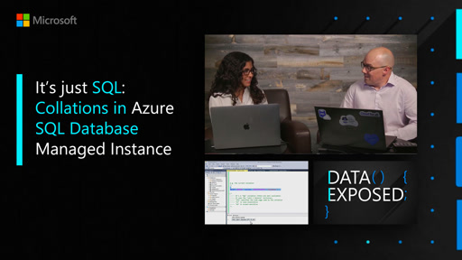 It's just SQL: Collations in Azure SQL Database Managed Instance
