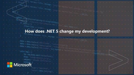 How does .NET 5 change my development? | One Dev Question
