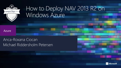 How to deploy NAV 2013R2 on Windows Azure