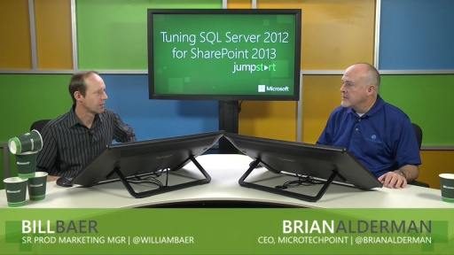 Tuning SQL Server 2012 for SharePoint 2013: (04) SQL Server and SharePoint Availability