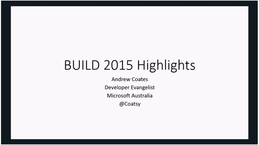 Everything you need to know from the //Build Conference