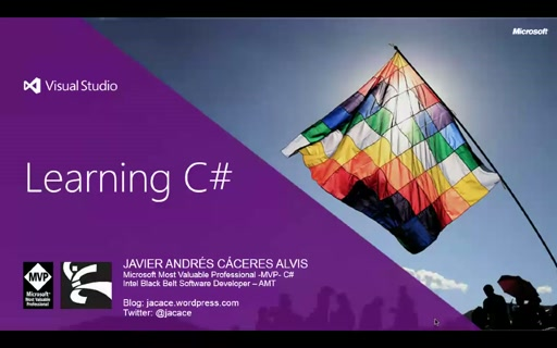 #100devdays Aprendiendo C# Video1 Parte 1