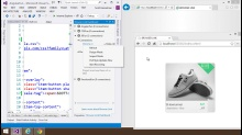 Visual Studio 2013 Web Editor Features - Browser Link