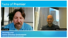 Taste of Premier: Securing Your Active Directory Environment