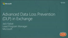 Advanced Data Loss Prevention (DLP) in Exchange
