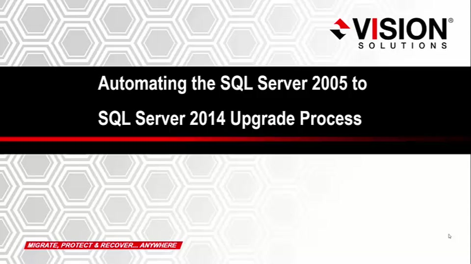 Automating the SQL Server 2005 to SQL Server 2014 Upgrade Process