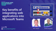 Key benefits of integrating web applications into Microsoft Teams