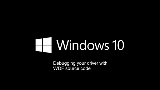 Debugging your Driver with WDF Source Code