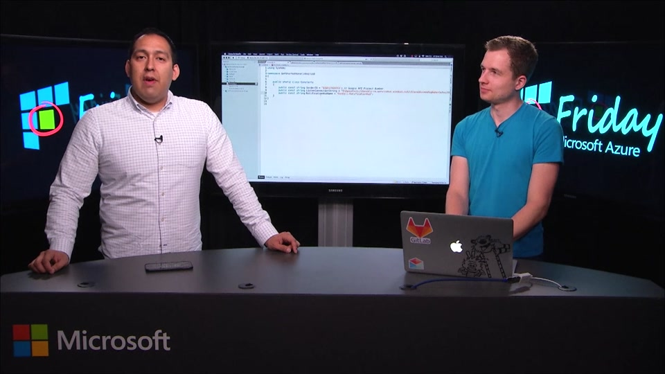 Using Azure Notification Hubs from a Xamarin.Android Application