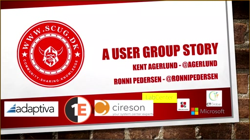 Run your user group like a company