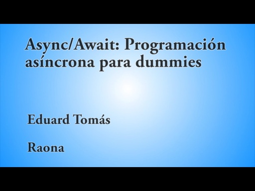 12 HORAS VISUAL STUDIO ASYNC/AWAIT PROGRAMACION ASINCRONA