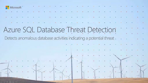 Azure SQL Database Threat Detection Summary