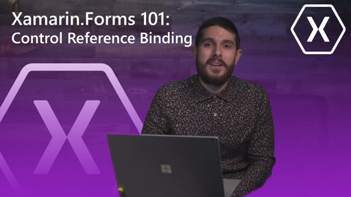 Xamarin.Forms 101: Control Reference Binding (View-to-View)