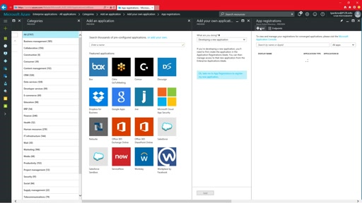 Azure AD Enterprise Applications: New management and configuration experience in preview