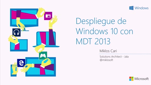 Despliegue de Windows 10 con MDT 2013
