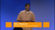 Intro - Terry Myerson, Windows Phone 8