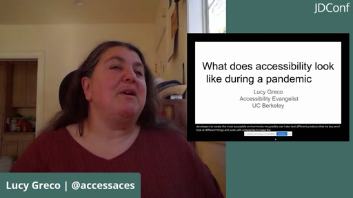 Accessibility in the Time of COVID-19